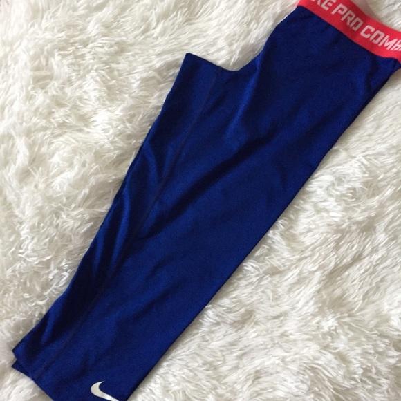 Nike Pants - Blue Nike leggings